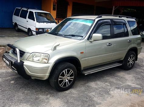 Honda Crv 1 Automatic honda cr v 2000 2 0 in perak automatic suv gold for rm