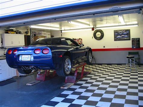 garage forum race deck swiss trac etc garage floor corvetteforum
