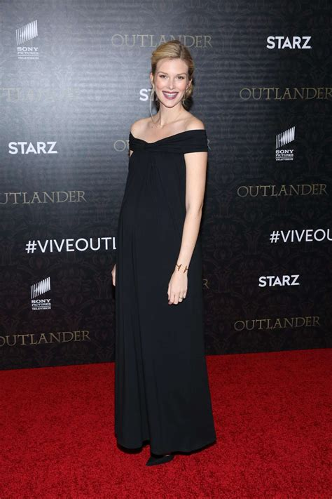 lucy walters picture 2 outlander season 2 premiere red emma ishta outlander season 2 premiere in new york