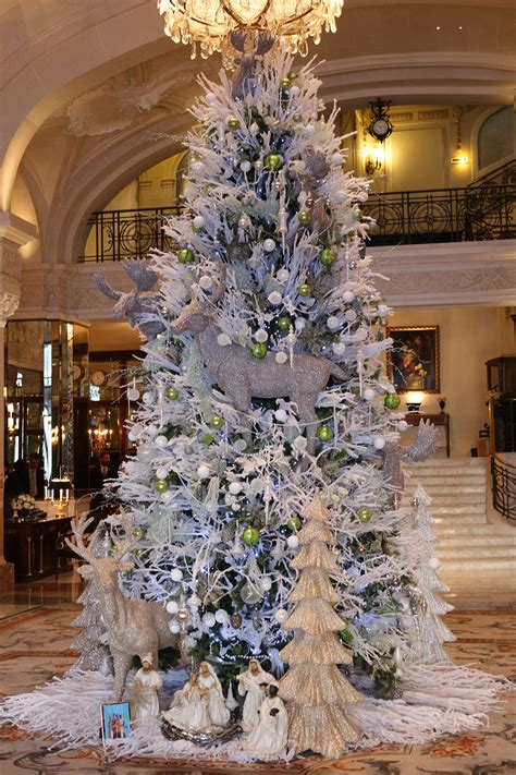christmas trees in monte carlo luxury travel diary