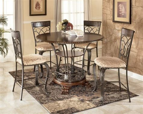 alyssa 48 quot counter height table dining set