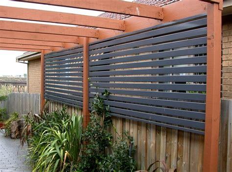 backyard screening options brise vue balcon en quelques id 233 es int 233 ressantes