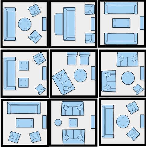 furniture layout how to efficiently arrange the furniture in a small living room