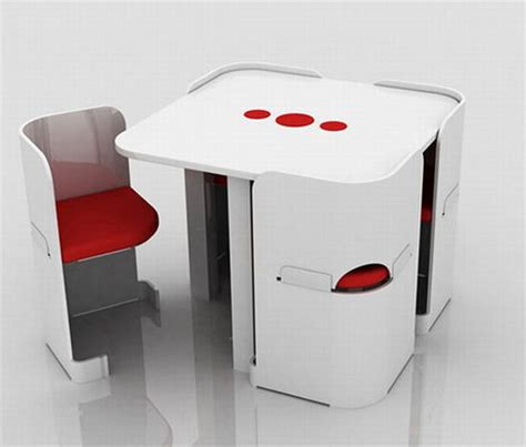 Space Saving Armchair by Space Saver Dining Table Home Design