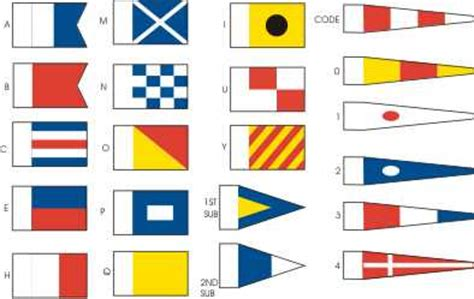 signal flags model ship fabric flags boat flag from - Rc Boat Flags