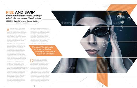 magazine layout template graphicriver magazine template bundle indesign layout v5 by
