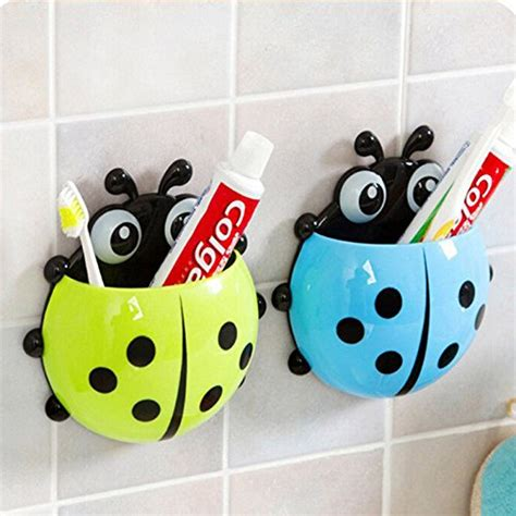 Bug Creative Toothbrush Holder Organizer 2 price tracking for maxu ladybug wall