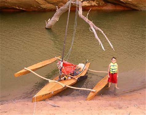 clc boats trimaran a homebuilt clc mill creek trimaran small trimarans