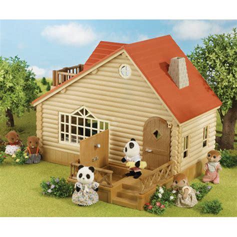 sylvanian family dolls house sylvanian families log cabin dolls house 4370 ebay