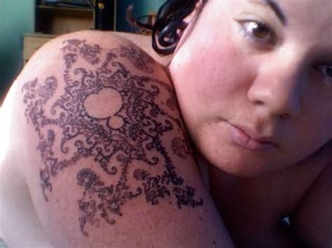 fractal tattoos 55 amazing mandelbrot tattoos ideas golfian