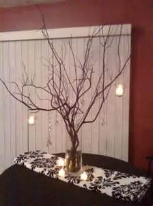 diy branch centerpiece diy manzanita branch centerpieces