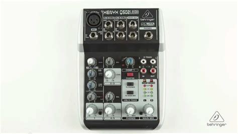 format audio video youtube xenyx q502usb small format mixer usb audio interface