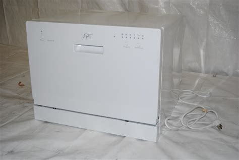 Spt Countertop Dishwasher White by Spt Countertop Dishwasher White Ebay