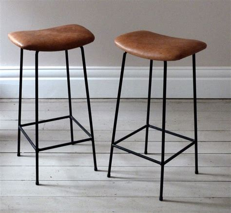 Leather Kitchen Stools by Vintage Bar Stools Ideas Stool Inspiration Cool