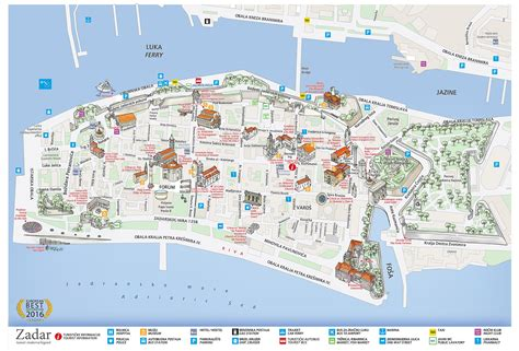 Detailed Search Free Large Zadar Maps For Free And Print High Resolution And Detailed Maps