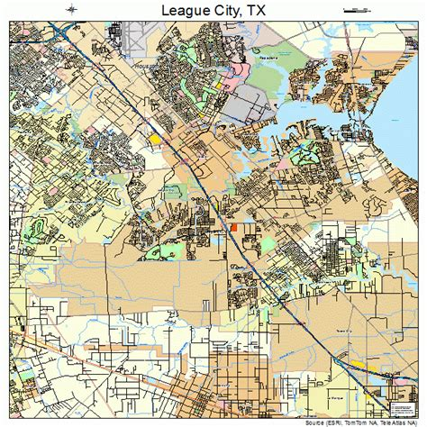 city texas map league city texas map 4841980