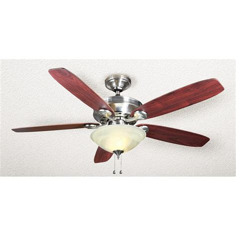 Sports Ceiling Fans With Lights 174 54 Quot Lighted Ceiling Fan Refurbished 222367 Lighting At Sportsman S Guide