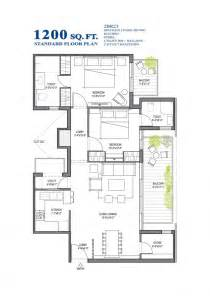 1200 Square Foot House Plans 1200 Sq Ft Modern House Plan India House Plans Small