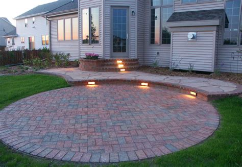 Patio Paver Lights Patio Paver Lights Integral Led Lights Douglassville Paver Patio From Willow Gates Landscaping