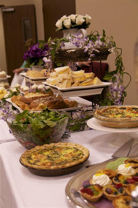 bridal shower tea menu contentewe a bridal shower tea