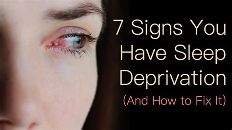 7 Signs You Sleeping Problems by 7 Signs You Sleep Deprivation And How To Fix It