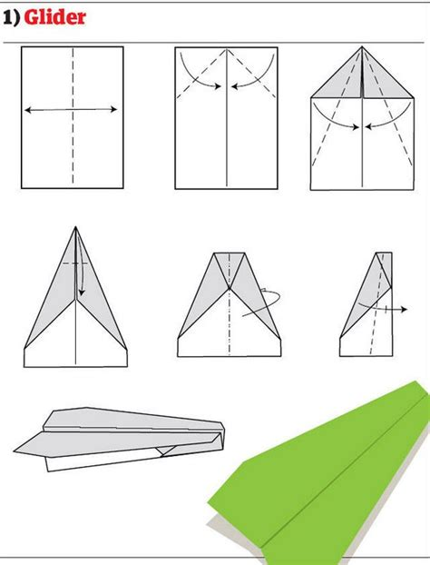 Make Paper Airplanes - how to make 12 types of paper airplane