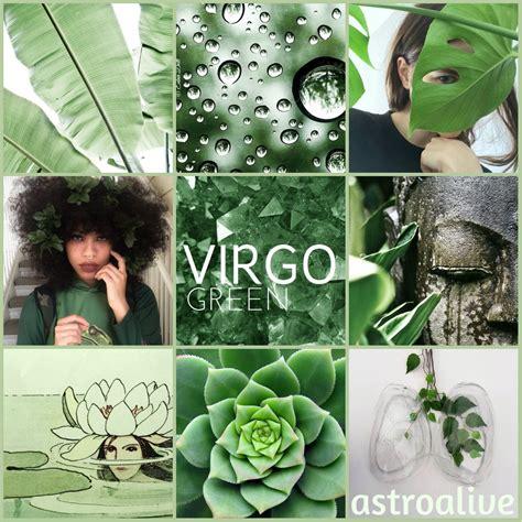 virgo color astrology wonderings