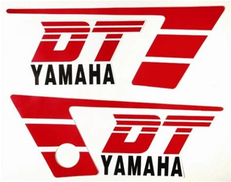 Sticker Yamaha Dt 50 by Yamaha Dt 50 Mx 87 91 Decal Pack 2 Parts At Wemoto The