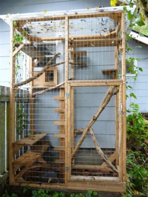 free diy catio plans 51 outdoor cat enclosures your cat comfydwelling