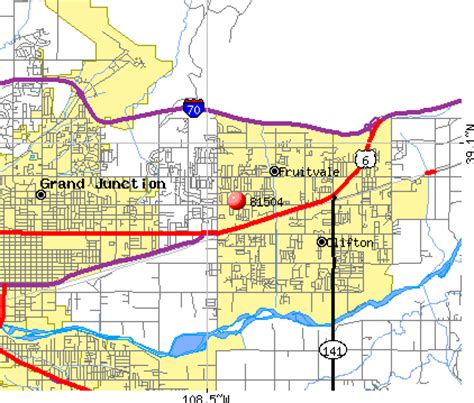 zip code map grand junction co grand junction co zip images frompo 1