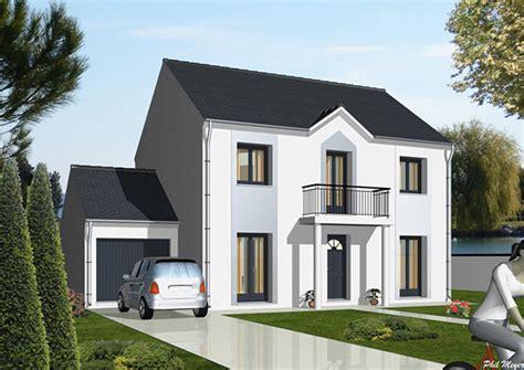 modele  plans chennevieres du constructeur maisons deal