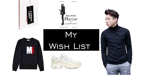 8 Items From My Wish List by Top 4 Items In My Wish List Now