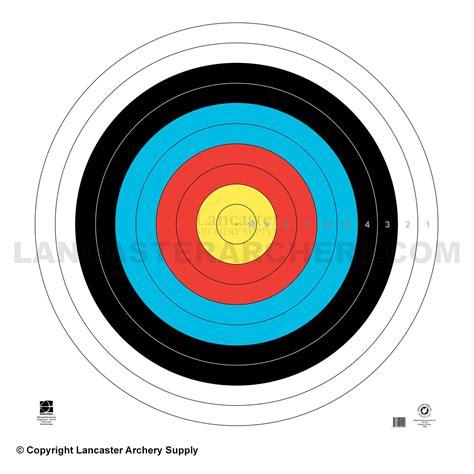 printable fita indoor targets maple leaf ta 122cm fita target face
