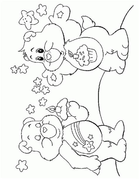wish bear coloring pages 1000 images about care bear wish bear 4 on pinterest