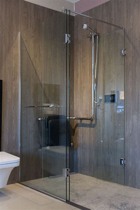 open top saloon shower enclosure disabled showers