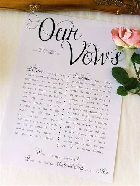 Writing Your Own Wedding Vows by To And To Hold Writing Your Wedding Vows Nyc