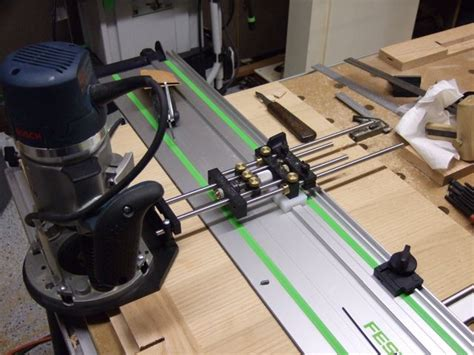 festool guide rail router adapter google search