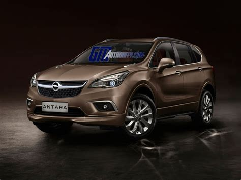 opel suv antara 2016 opel antara suv rendered gm authority