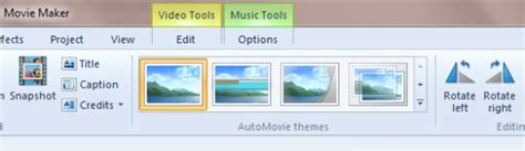 themes for windows movie maker live windows live movie maker effects and themes
