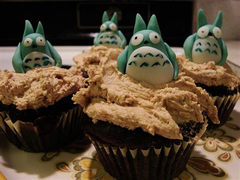 Cupcake Of The Week My Edible Totoro by Flickriver Most Interesting Photos From The Edible Totoro