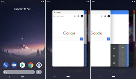android multitasking android p multitasking recent apps screen getting ios like design navigation system gets detailed