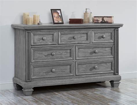 dresser drawer for baby bed oxford baby richmond 7 drawer dresser brushed gray