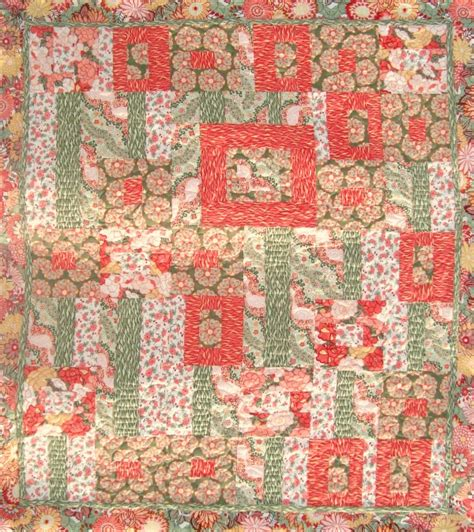 Patchwork Tutorials Free - rococo gardens quilt free quilt tutorial