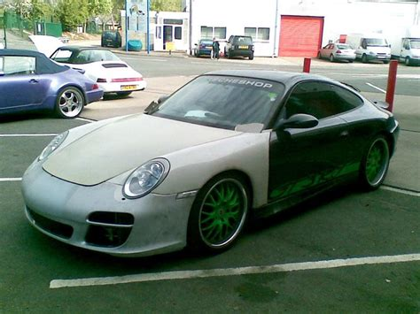 Porsche 996 Facelift Conversion by Roy Jones 1998 Porsche 996