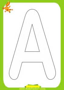 coloring pages with letters free coloring pages of single letter