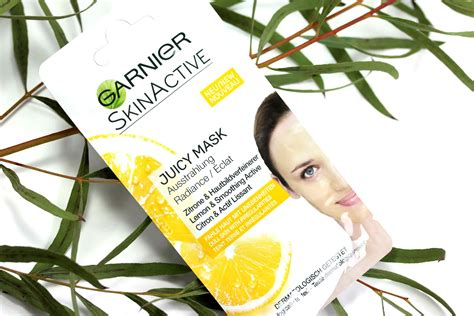 Masker Garnier Lemon pflege garnier skinactive maske innenaussen