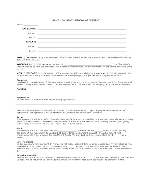 printable lease agreement arizona arizona monthly rental agreement edit fill sign online