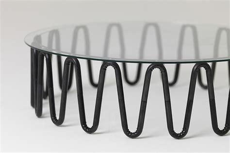 designboom furniture wrinkly steel furniture essenze