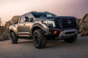 Nissan Titan 2016 Naias 2016 Nissan Titan Warrior Ready For Road Attack