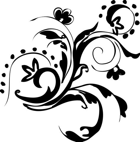 hand drawn floral free vector images free vector 4vector